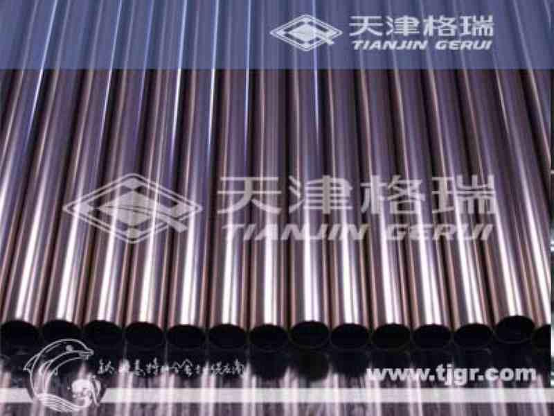 供应供应ASTMB338钛管Gr2
