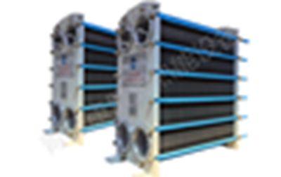 蒸汽板式冷凝器