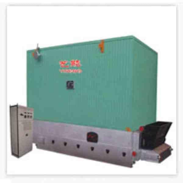 卧式自动链条机烧燃煤导热油炉
